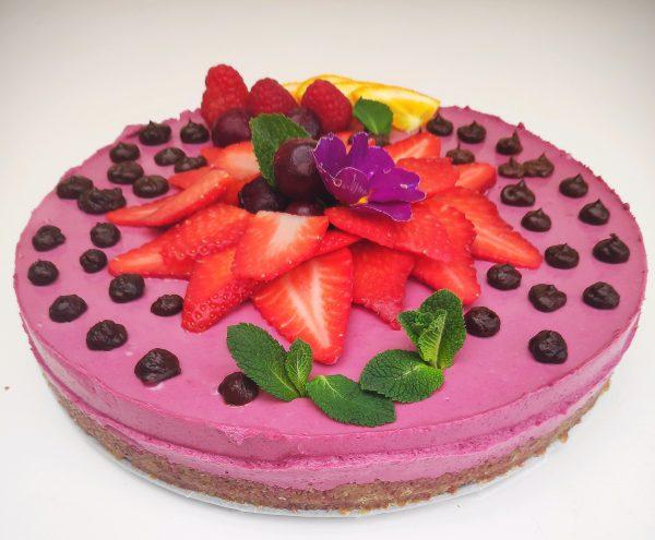 raw vegan cake to your door