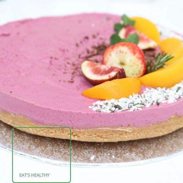 sour-cherry raw vegan cake