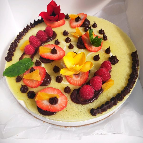 a new cheesecake