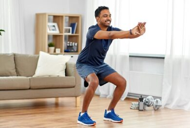 5 Easy-To-Do Exercises To Stay Strong During Lockdown!