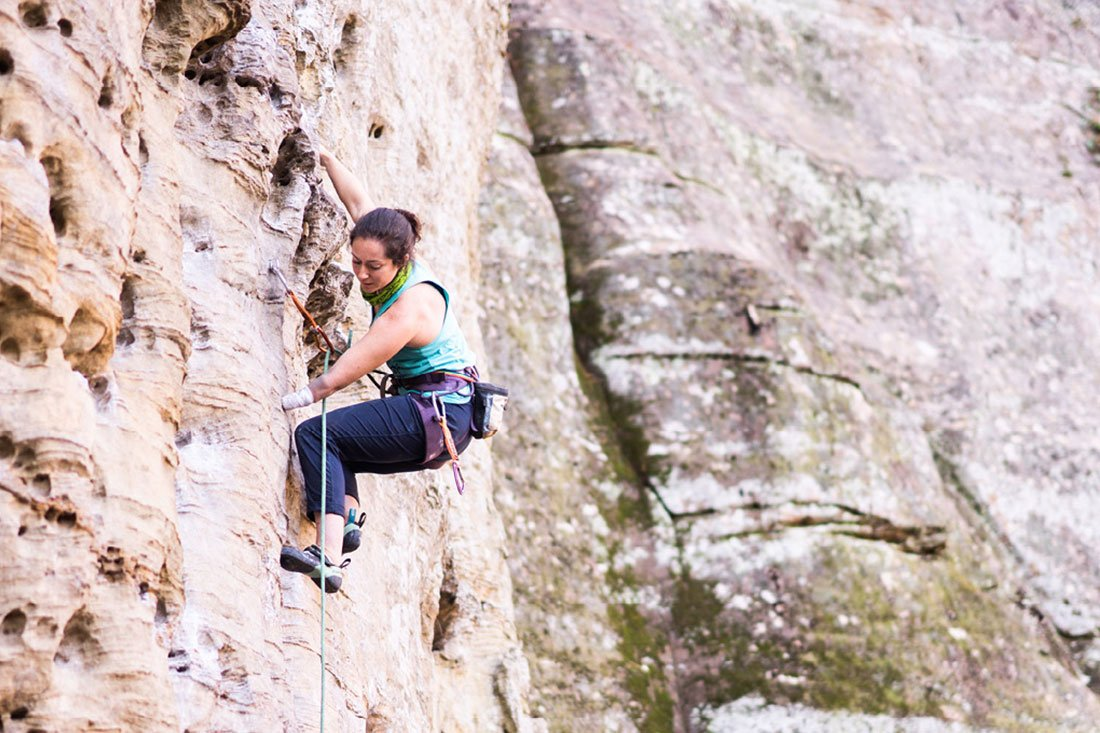 Adventure Climber Mo Beck Doesn't Believe in Excuses