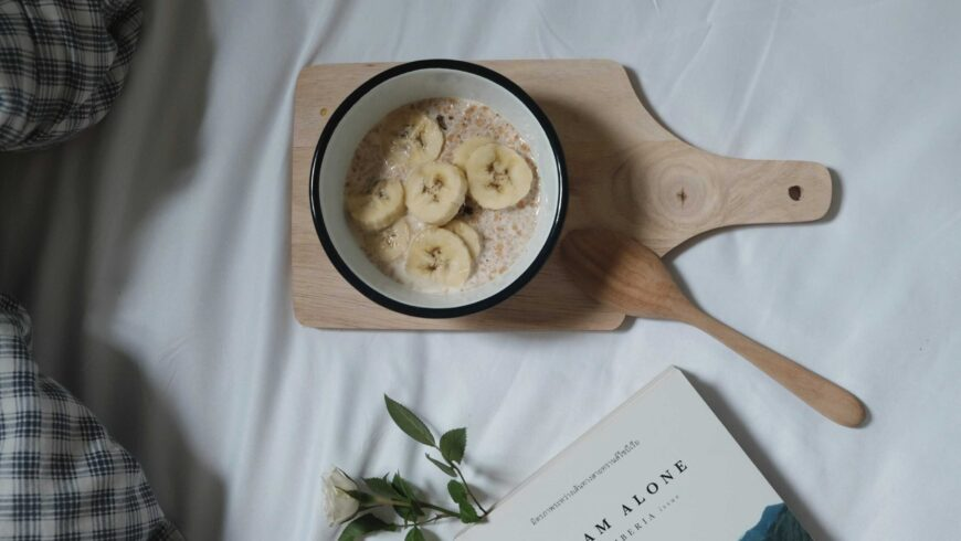 Bircher muesli with apple & banana