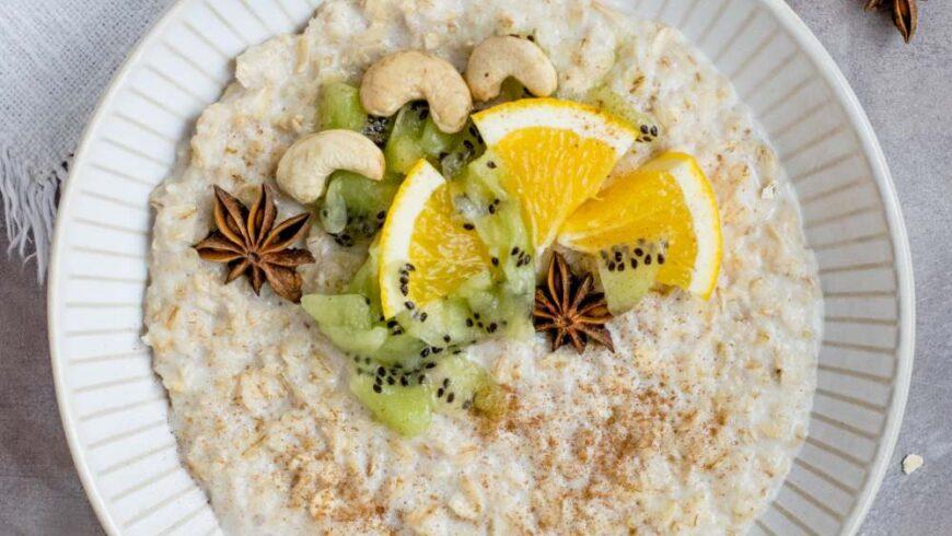 Tropical overnight oats