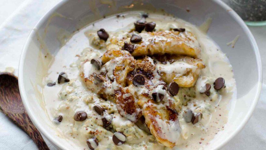 Oat & chia porridge