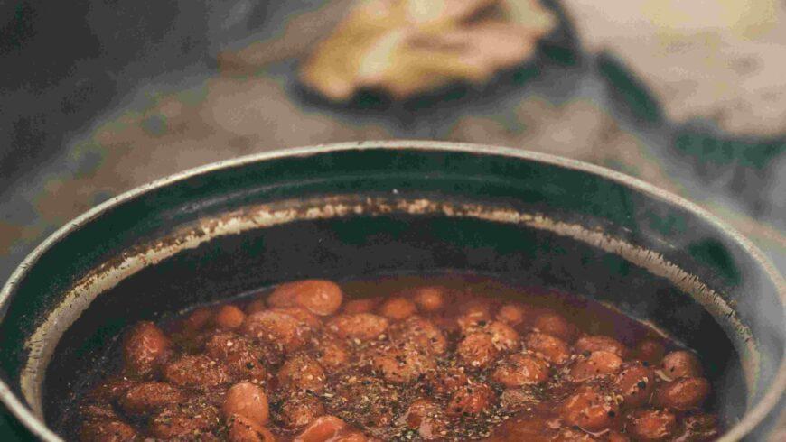 Slow cooker breakfast beans