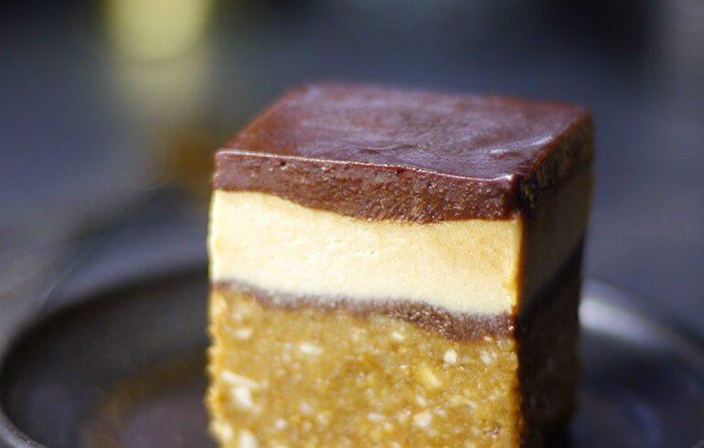 RAW ESPRESSO LAYER CAKE